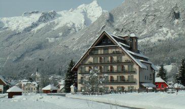 Hotel Mangart ***S Bovec, Slovenija